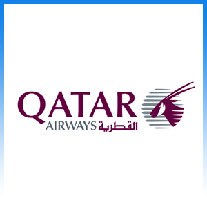 Qatar Airways logo bagagekosten