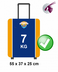 handbagage Qatar Airways