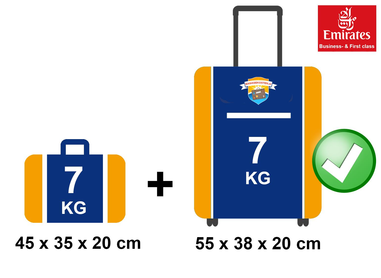 en soldes 3c7d2 8d83f Emirates Bagage | handbagage en ruimbagage » Bagagekosten.nl