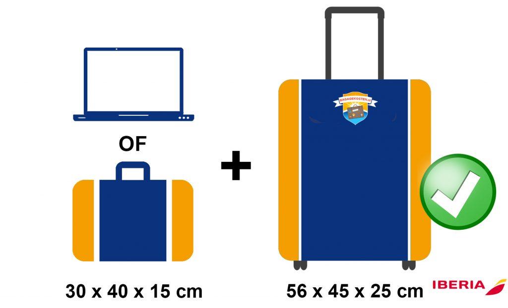 Iberia Afmetingen Handbagage