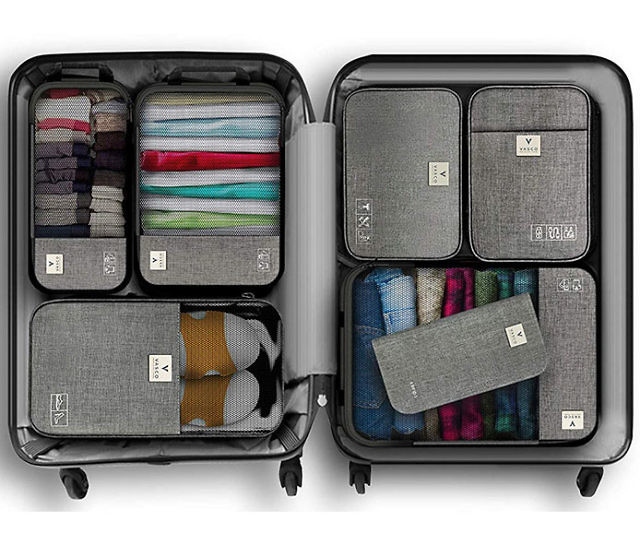 bagage packing-cubes